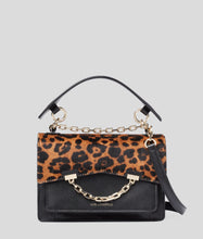 Load image into Gallery viewer, K/KARL SEVEN LEOPARD SHOULDER BAG