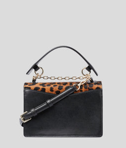 K/KARL SEVEN LEOPARD SHOULDER BAG