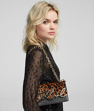 Load image into Gallery viewer, K/SIGNATURE LEOPARD SMALL SHOULDER BAG