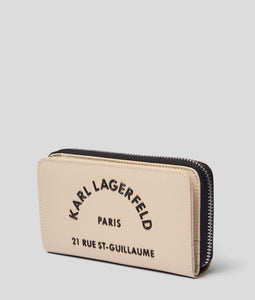RUE ST-GUILLAUME MEDIUM ZIPPERED WALLET