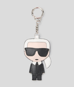 KARL LEATHER KEYCHAIN
