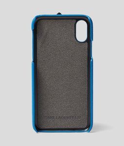 KARL CASE WITH STRAP FOR IPHONE XS