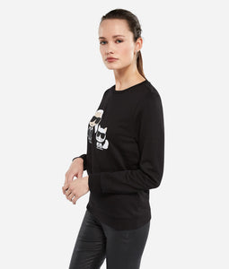 KARL & CHOUPETTE IKONIK SWEAT