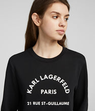 Load image into Gallery viewer, ADDRESS LOGO SWEATSHIRT