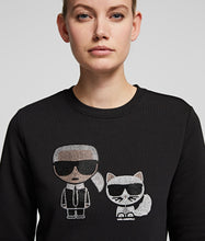 Load image into Gallery viewer, K/IKONIK RHINESTONE SWEATSHIRT