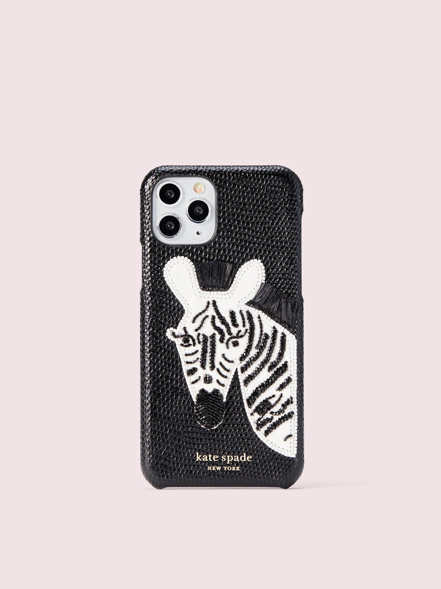 BEADED ZEBRA IPHONE 11 PRO CASE