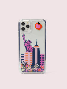 NYC LIQUID CONFETTI IPHONE 11 PRO MAX CASE