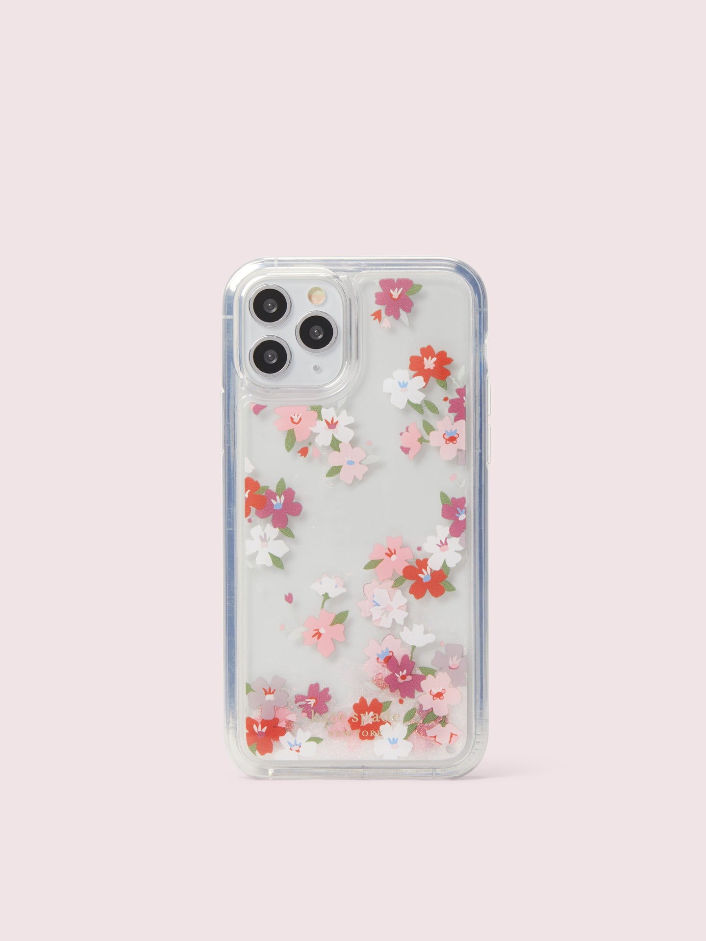 CHERRY BLOSSOM LIQUID GLITTER IPHONE 11 PRO CASE