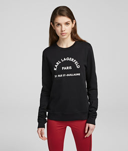 ADDRESS LOGO SWEATSHIRT