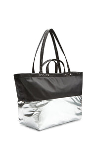 LARGE EAST WEST NYLON TOTE