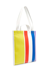 LOVE STRIPE MAGAZINE TOTE