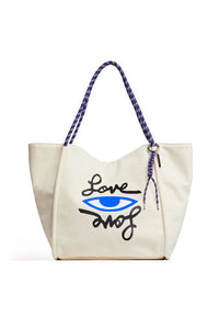 SOFT TOTE - LOVE EYE