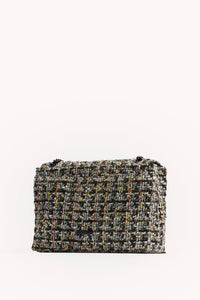 EDIE TWEED FLAP SHOULDER BAG