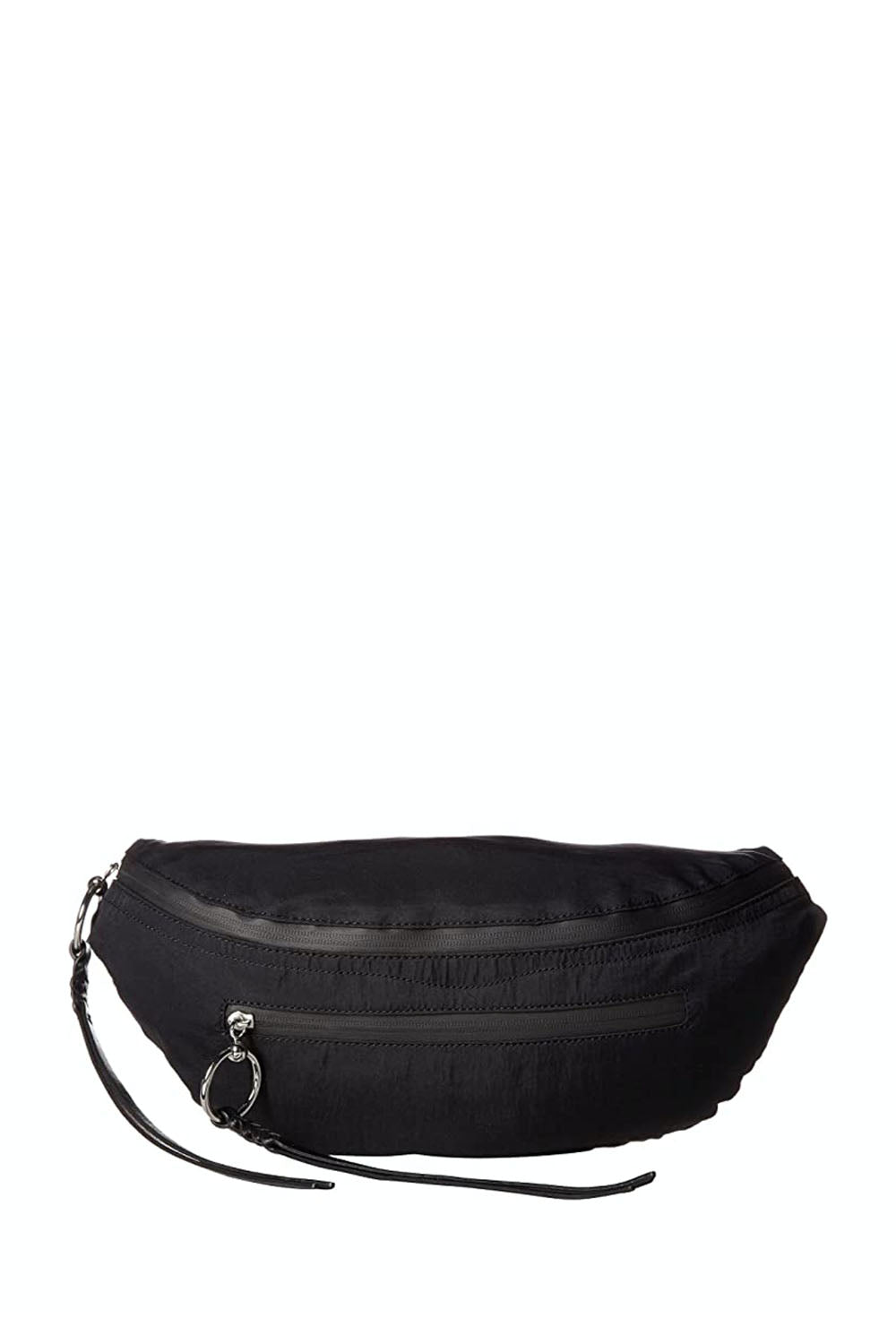 BREE LARGE ZIP NYLON BELT BAG