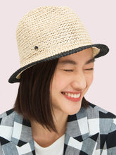 Load image into Gallery viewer, HERITAGE STRIPE CRUSHABLE FEDORA