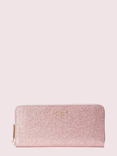 Load image into Gallery viewer, SPENCER GLITTER SLIM CONTINENTAL WALLET