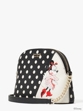 Load image into Gallery viewer, DISNEY X KATE SPADE NEW YORK MINNIE MOUSE SMALL DOME CROSSBODY
