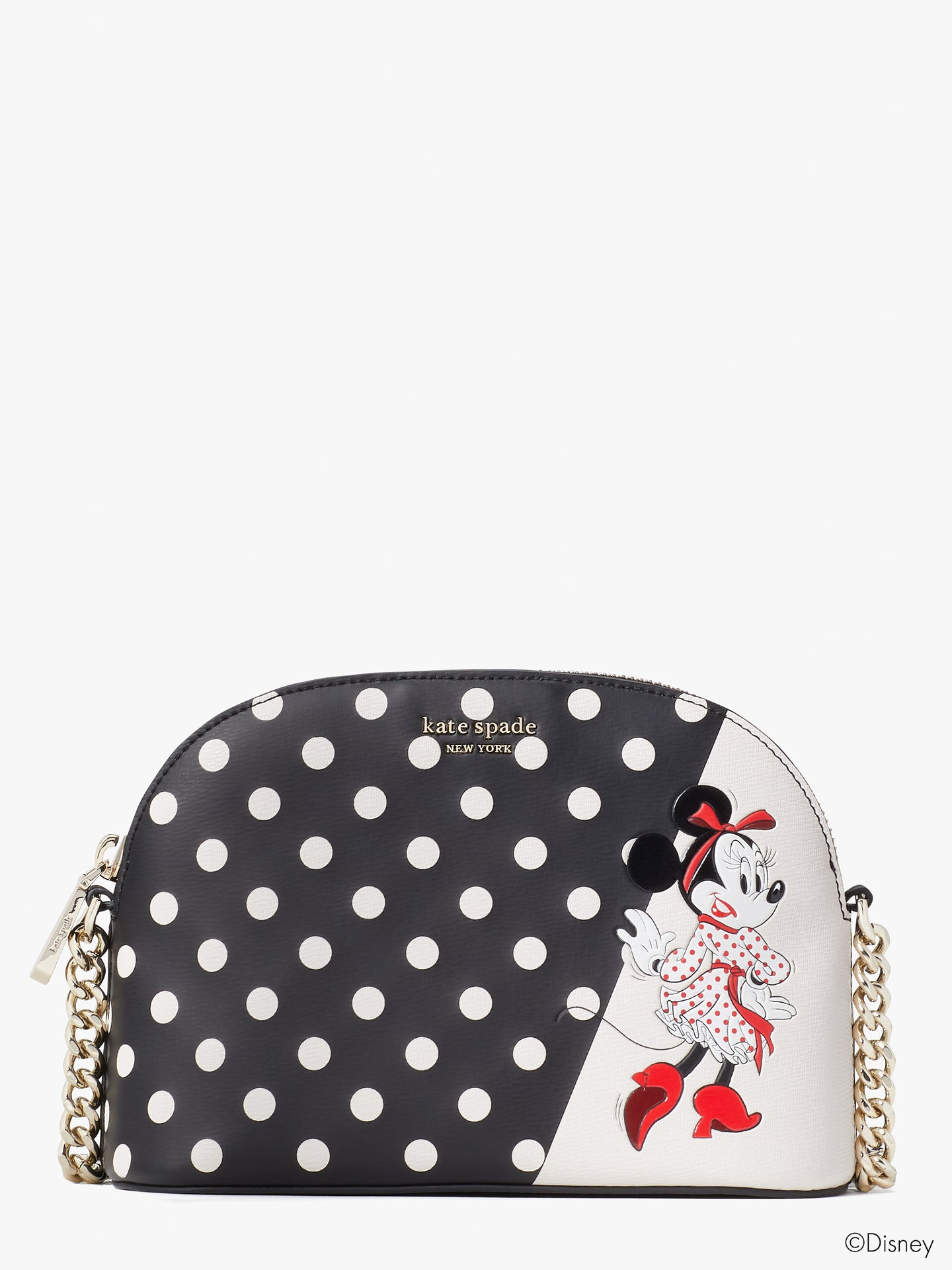 DISNEY X KATE SPADE NEW YORK MINNIE MOUSE SMALL DOME CROSSBODY
