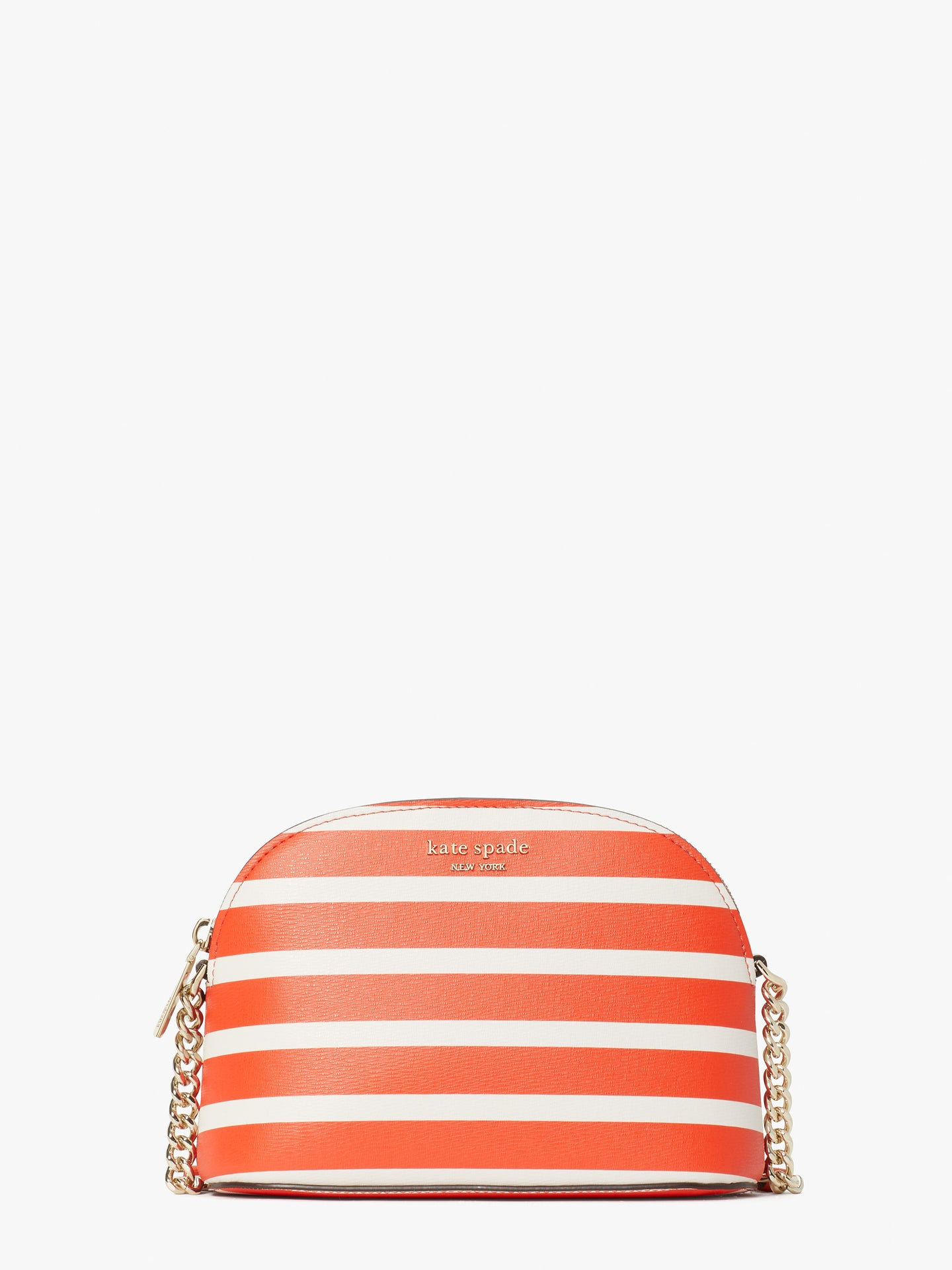 SPENCER STRIPE ZIP-AROUND CONTINENTAL WALLET