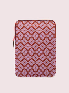 LAPTOP CASES NEOPRNE SPADE FLOWER UNIVERSAL LAPTOP SLEEVE