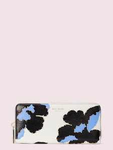 MARGAUX CITY BLOOM SLIM CONTINENTAL WALLET