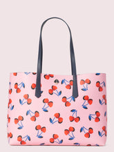 Load image into Gallery viewer, MOLLY CHERRIES LARGE TOTE