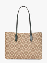 Load image into Gallery viewer, SPADE FLOWER COATED CANVAS ALL DAY LARGE TOTE