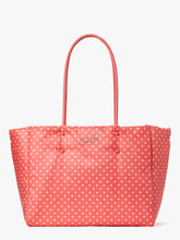 Load image into Gallery viewer, EVERYTHING PUFFY DOTS LARGE TOTE