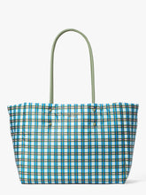 Load image into Gallery viewer, EVERYTHING PUFFY PLAID LARGE TOTE