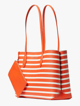 Load image into Gallery viewer, ALL DAY SAILING STRIPE LARGE TOTE