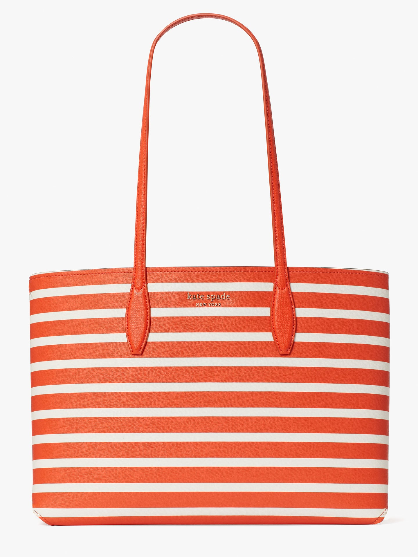 ALL DAY SAILING STRIPE LARGE TOTE
