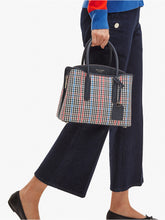 Load image into Gallery viewer, MARGAUX PLAID MEDIUM SATCHEL