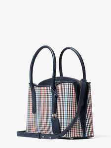 MARGAUX PLAID MEDIUM SATCHEL