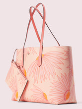 Load image into Gallery viewer, MOLLY FALLING FLOWER LARGE TOTE