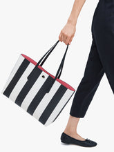 Load image into Gallery viewer, MOLLY STRIPE LARGE TOTE