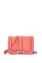 Load image into Gallery viewer, CHEVRON QUILTED SMALL LOVE CROSSBODY