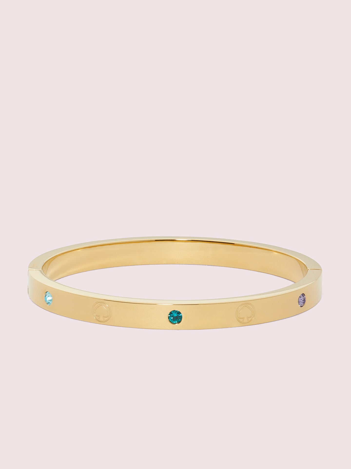 INFINITE SPADE ENGRAVED SPADE BANGLE