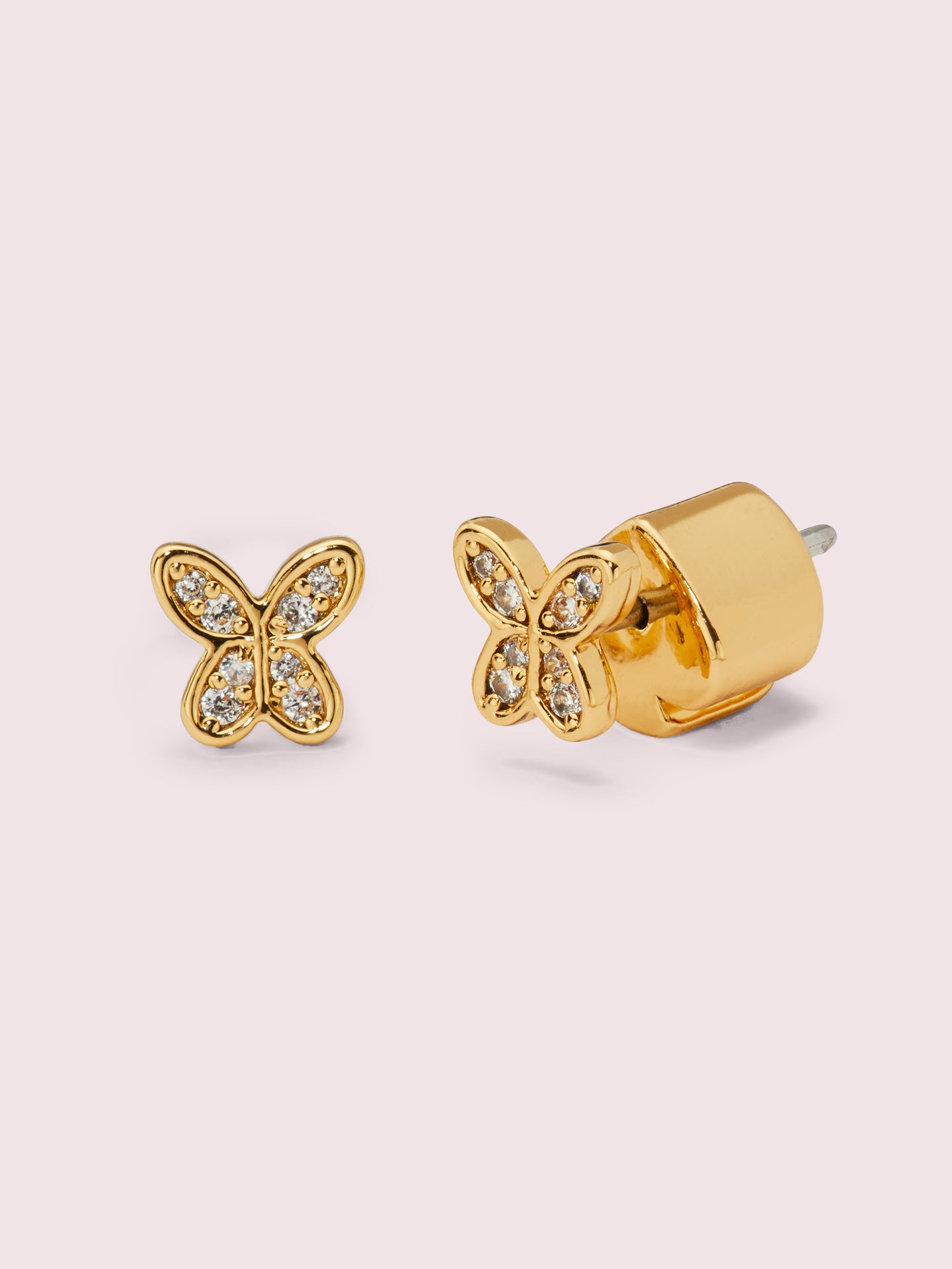 IN A FLUTTER PAVÉ MINI STUDS
