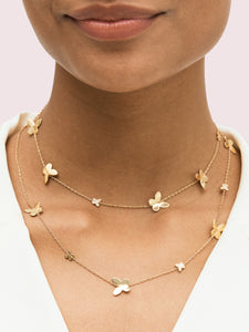 IN A FLUTTER SCATTER NECKLACE