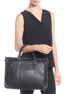 ALWAYS ON LARGE REGAN SATCHEL TOTE