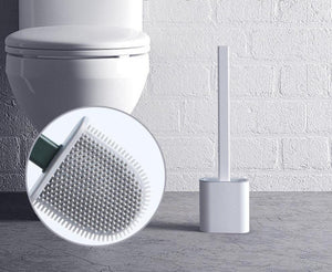 Revolutionary Flex Toilet Brush With Holder