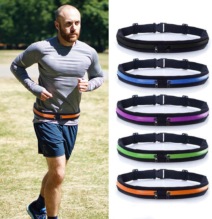 iRun™ DUAL POCKET RUNNING BELT