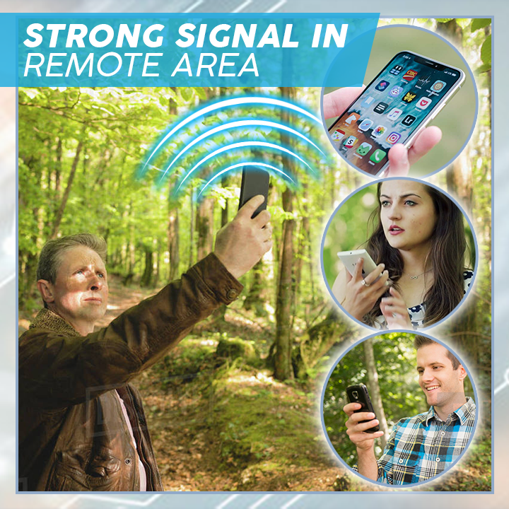 Smart Phone Signal Booster Sticker