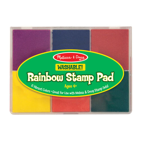 MELISSA AND DOUG Rainbow Stamp Pad juguetes 11637