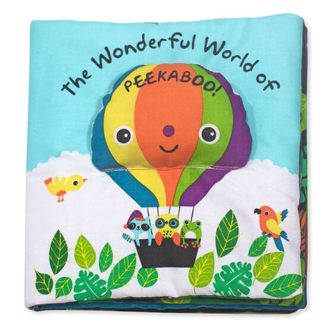 MELISSA AND DOUG Soft Activity Book - ¡El maravilloso mundo de Peekaboo! juguetes 9208