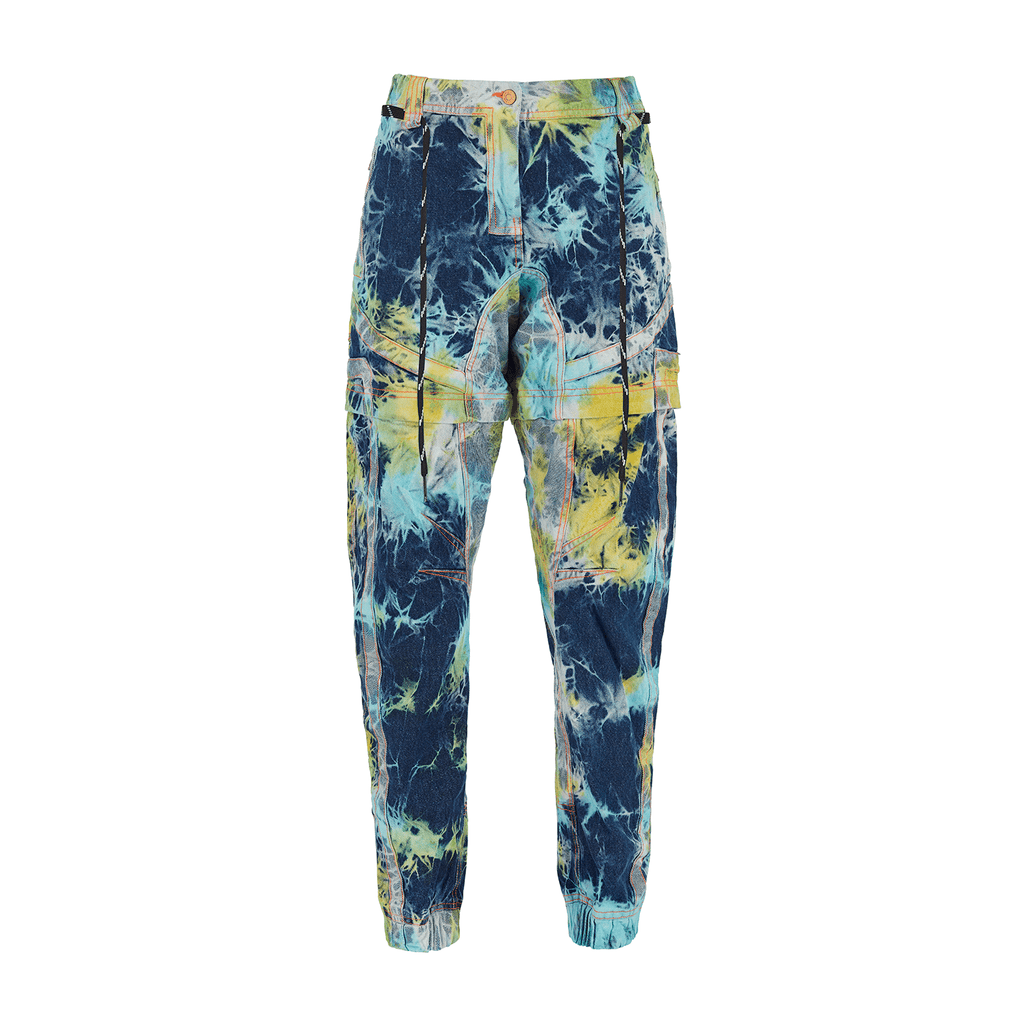 MULTICOLOR ULTIMATE BATİK DENİM PANTALON/ŞORT