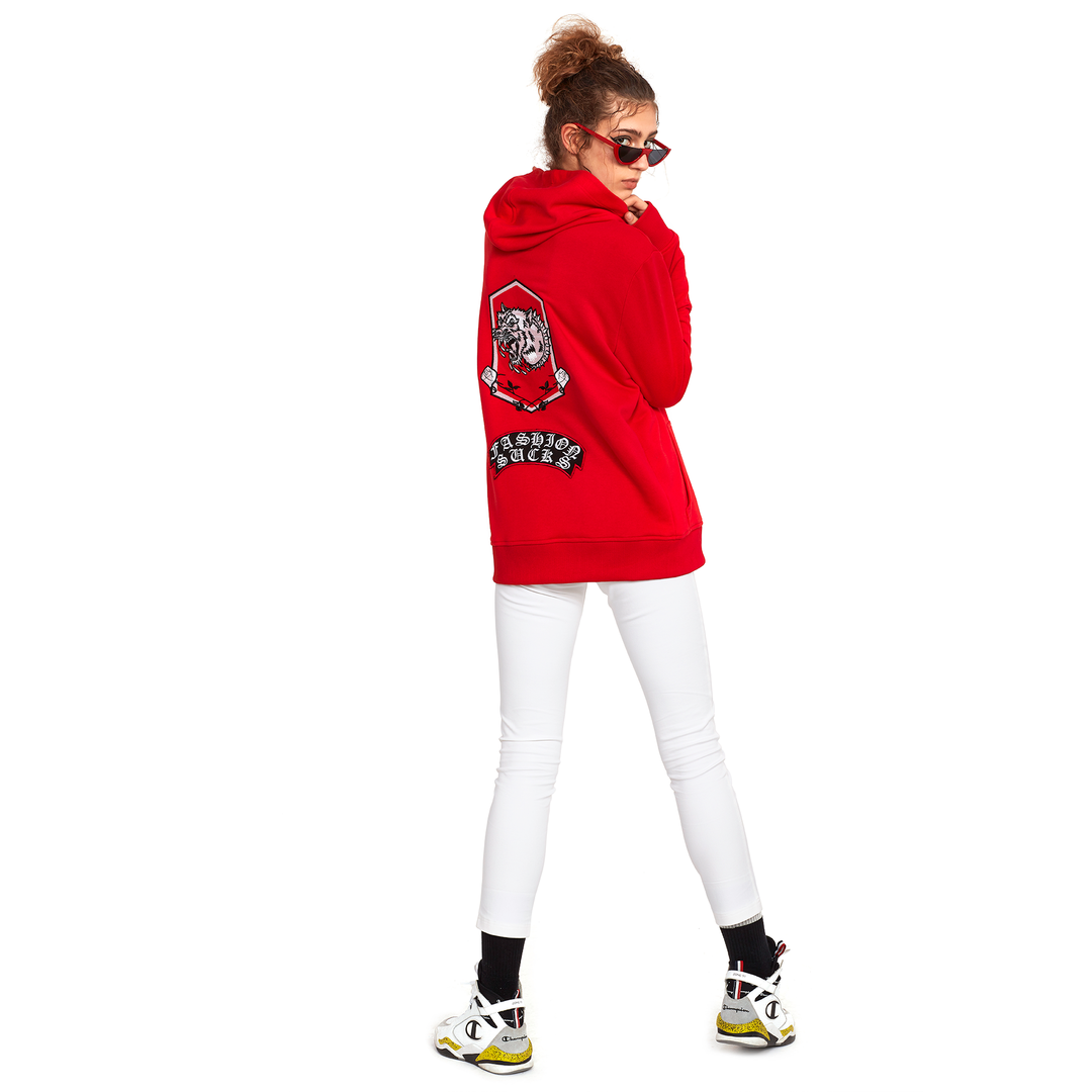 KIRMIZI ULTRA PATCH SWEATSHIRT