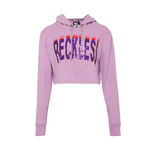 LİLA FABULOUS AND RECKLESS CROP SWEATSHIRT