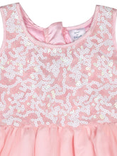 Load image into Gallery viewer, Peach Net Partywear Dress
