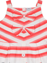 Load image into Gallery viewer, Stripe Printed Cotton Dress
